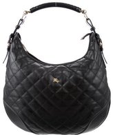 Burberry Hoxton Quilted Hobo
