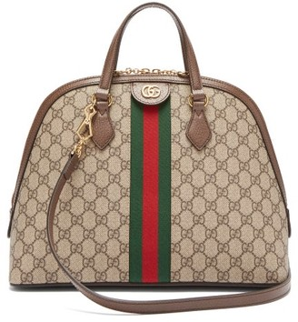 Gucci Ophidia Gg Supreme Tote Bag - Grey Multi