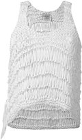Forte Forte crochet tank top - women - Silk/Cotton - I
