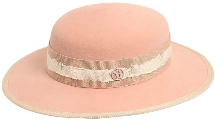 Maison Michel Rob Rabbit Fur Felt Hat