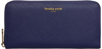 Fenella Smith Navy Blue Vegan Leather Purse
