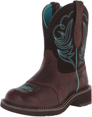 Ariat Women's Fatbaby Western Boot Leather