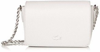 Lacoste Women's Chantaco Leather Chain Crossbody Bag