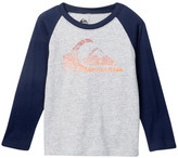Quiksilver Quik Wave Raglan Sleeve Tee (Little Boys)
