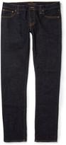 Nudie Jeans Long John Skinny-Fit Rinsed-Denim Jeans