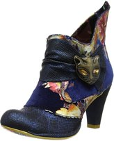 Irregular Choice Miaow Floral Womens Ankle Boots - 39 EU