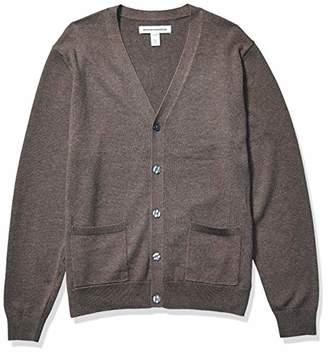 Amazon Essentials Cotton Cardigan Sweater,Medium