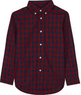 Ralph Lauren Long-sleeve checked shirt 2-7 years