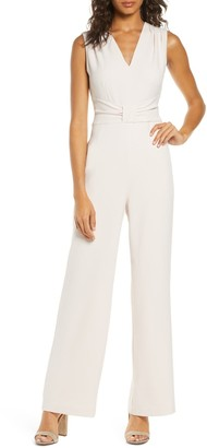 Harper Rose Sleeveless Crepe Jumpsuit