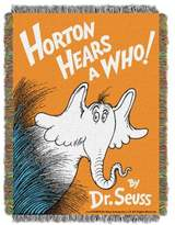 Dr. Seuss Dr. SeussTM Horton Hears A Who Woven Tapestry Throw Blanket