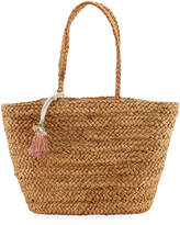 Capelli of New York Straworld Large Straw Beach Tote Bag