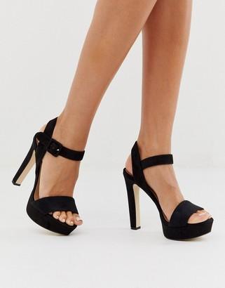 Call it SPRING by ALDO Wanna platform sandals in black