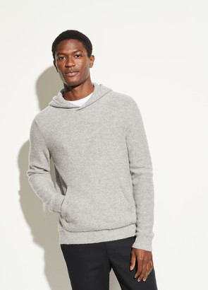 Vince Boiled Cashmere Pullover Hoodie