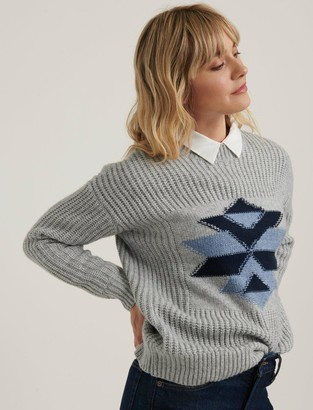 Lucky Brand Intarsia Winter Sweater