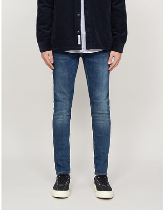 Nudie Jeans Tight Terry straight stretch-denim jeans