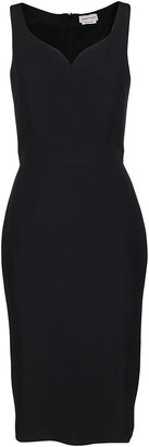 Alexander McQueen Sleeveless Fitted Dress