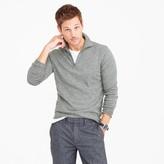 J.Crew Lightweight Italian cashmere half-zip sweater