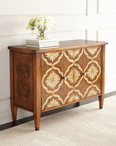 John-Richard Collection Grant Park Mother-of-Pearl Inlay Cabinet