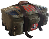 Marvel Captain America Vintage Military Carry-On