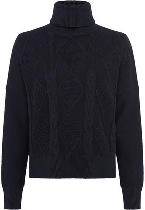 Great Plains Hoyle Knit Roll Neck Jumper