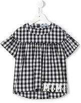 Mi Mi Sol checked blouse