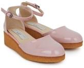 Stella McCartney Pink Patent Sandals