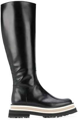 Paloma Barceló Piura 60mm leather boots