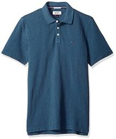 Tommy Hilfiger Men's Short Sleeve Garment Dyed Pique Polo Shirt