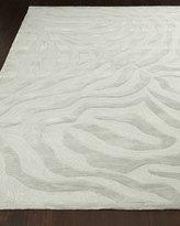 Horchow Silver Zebra Rug, 8' x 10'