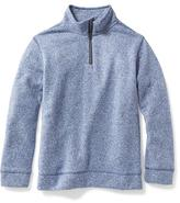Old Navy Sweater-Knit Fleece 1/2-Zip Pullover for Boys