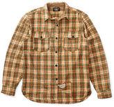 Ralph Lauren RRL Plaid Cotton Twill Overshirt