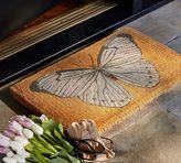 Pottery Barn Butterfly Doormat