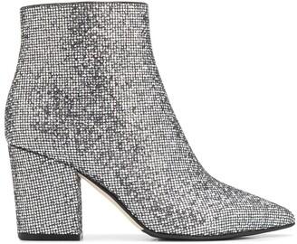 Sergio Rossi Glitter Ankle Boots