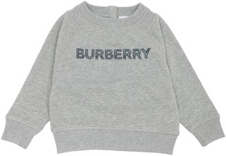 Burberry LOGO COTTON SWEATSHIRT