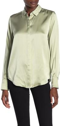 Scotch & Soda Silk Button Down Shirt