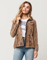 Full Tilt Corduroy Womens Anorak Jacket