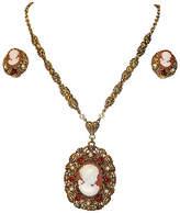One Kings Lane Vintage 1960s Necklace & Earring Set - Set of 3