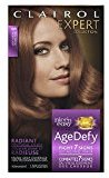 Clairol Age Defy Expert Collection, 6R Light Auburn, Permanent Hair Color, 1 Kit