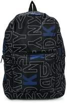 DKNY logo printed backpack