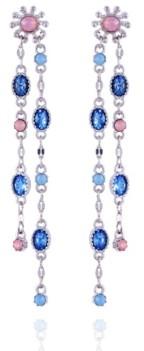 Nanette Lepore Extra Celestial Double Drop Linear Earrings