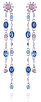 Nanette Lepore Extra Celestial Double Drop Linear Earrings