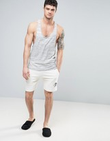 Diesel Lounge Shorts Regular Fit White
