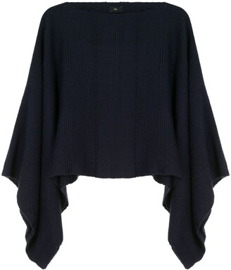 Voz Solid Cropped Jumper