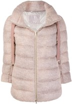 Herno drawstring collar padded jacket