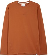 Norse Projects James Orange Cotton Top