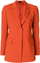 Theory classic single buttoned blazer