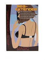 Magic Bra Extender (3 Pack) - Black, white, skin