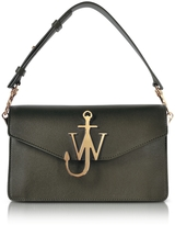 J.W.Anderson Military Green Logo Purse