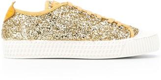 Car Shoe Glitter Design Sneakers