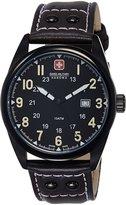 Swiss Military Hanowa Men's Sergeant 06-4181-13-007-05 Brown Leather Swiss Quartz Watch with Dial